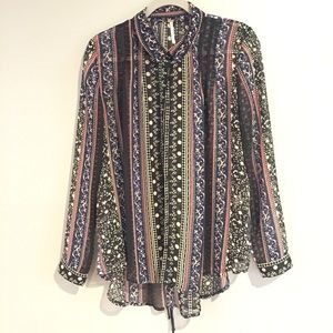 Free People Silky Tunic Top